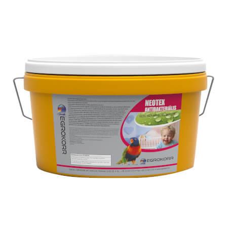 Neotex antibakteriális vízzel higítható beltéri falfesték - egrokorr.hu